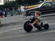 Blake Big Wheel Race